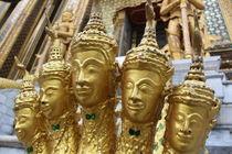 Thailand Temple von Tricia Rabanal