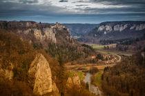 Schloss Werenwag bei Beuron III - Naturpark Obere Donau von Christine Horn
