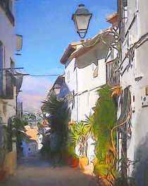 Altea Alley by arte-costa-blanca