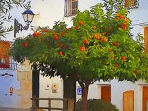 Orange Tree Altea by arte-costa-blanca
