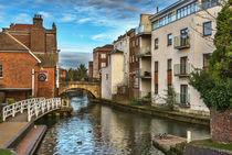 The Kennet And Avon Canal In Newbury von Ian Lewis