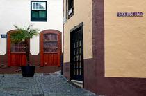 Platz in Santa Cruz de la Palma by Iris Heuer