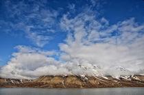 Spitzbergen Landschaft von Iris Heuer