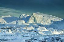 Sermeq Kujalleq Gletscher by Iris Heuer
