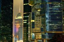 Hong Kong Island. Nocturne #1 by David Lyons