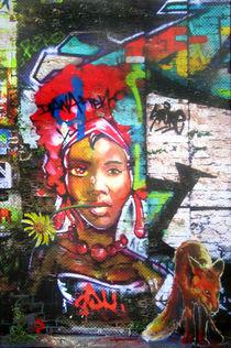 Was wäre , wenn eine Graffiti-Schönheit erwachen würde by Renée König