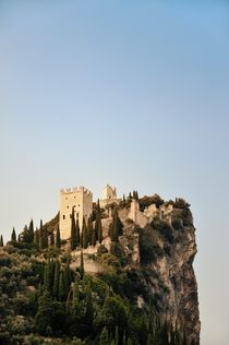 The Castello D'Arco. Lake Garda, Italy by David Lyons