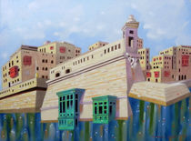 Memory of Malta, St Elmo's Fortress by federico cortese