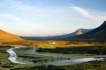Glencoe toward Rannoch in the Western Highlands by David Lyons