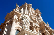 Kathedrale von Syrakus in Sizilien by captainsilva