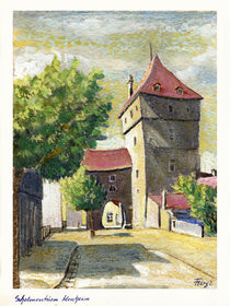 Schelmenturm, Monheim von Norbert Hergl