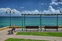 Praia da Luz Strandpromenade by Iris Heuer