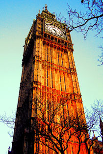 Big Ben, London, UK von salogwynpictureart