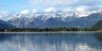 Zeller See mit steinernen Meer, Österreich, Zeller lake, Austria von Dagmar Laimgruber