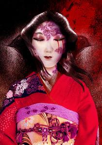 Crimson Silk by Val Neumaier