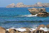 Die bretonische Küste von Birgit Wagner