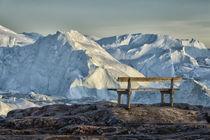 Ausblick auf den Gletscher by Iris Heuer