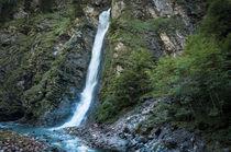 Wasserfall von Dr. Werner Csech