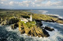 Fanad Head lighthouse. Donegal, Ireland by David Lyons