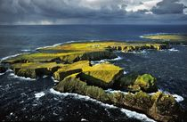 Tory Island off the coast of Donegal by David Lyons