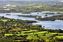 From the Cliffs of Magho over Lower Lough Erne by David Lyons