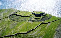 Dun Aenghus ancient stone fort. Aran Islands by David Lyons