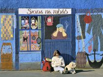 Waiting for the days catch in Kinvara by David Lyons