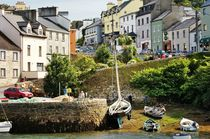 The fishing village of Roundstone. Galway, Ireland by David Lyons