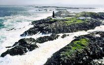 Atlantic storm at Slyne Head. Connemara, Ireland by David Lyons