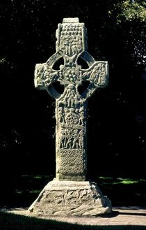 Celtic High Cross at Kells, Ireland von David Lyons