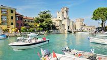 Scaliger Castle, Sirmione. Lake Garda, Italy by David Lyons