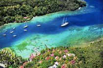Marigot Bay, Saint Lucia von David Lyons