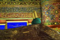 Sarcophagus of Persian Sufi mystic Mevlana by David Lyons