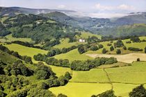 Over the Dee Valley. Llangollen, Wales by David Lyons