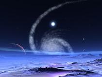 Galaxie Omega Xynaries by lothar bauer