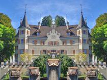 Schloss Seeburg im Spiegelbild von kattobello