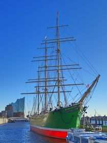 Segelschiff in Hamburg by kattobello