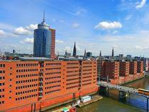 Speicherstadt in Hamburg von kattobello
