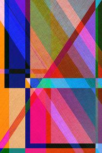 Farbenfrohe geometrische Formen - Grafik Design by mosaiko
