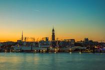 Skyline Hamburg by Bernd Willeke