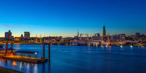 Hamburg Skyline by Bernd Willeke