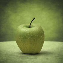 Apple by olaartprints
