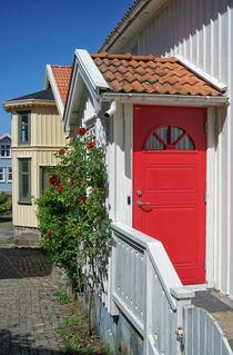 Rote Tür von Bruno Schmidiger