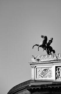 The Politeama Garibaldi Theatre. Palermo. B&W von David Lyons