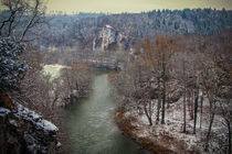 Blick von der Teufelsbrücke auf die Donau bei Inzigkofen - Naturpark Obere Donau von Christine Horn