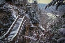 Die Teufelsbrücke bei Inzigkofen II - Naturpark Obere Donau by Christine Horn