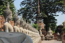 Ayutthaya budas von Tricia Rabanal