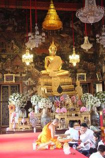 Buddhist temple von Tricia Rabanal