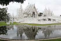 Chiang Rai, White Temple, Thailand von Tricia Rabanal