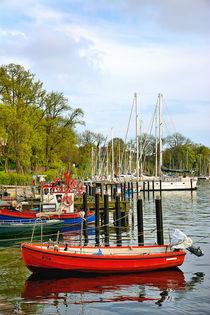 Seglerhafen in Neustadt in Holstein von gscheffbuch